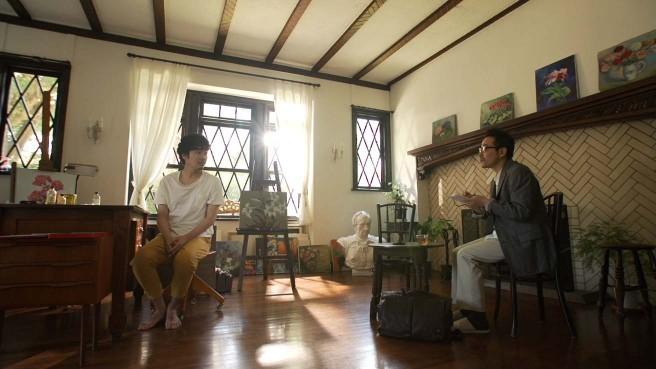 柄本佑さん(左)と田口トモロヲさん(右)