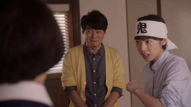夏帆さん、気合いの鉢巻きで捨てまくる「捨て変態」を熱演