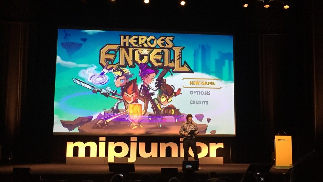 HEROES OF ENVELL:神秘的なゲームが入ったPCを偶然見つけた4人の中学生。 そのゲームが危険な冒険の世界の入り口になっていた。