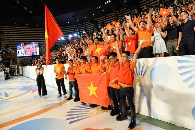 ABUロボコン優勝のベトナムチーム