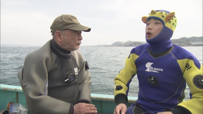水中カメラマンのレジェンド 須賀次郎さんと漁礁をめぐる旅へ