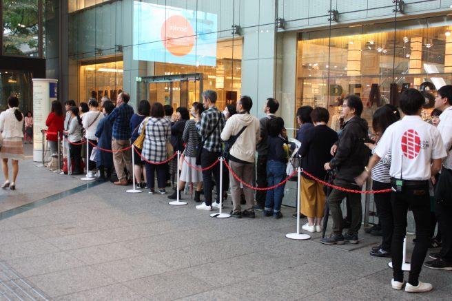 チコちゃんトークショー&RUGBY BENCH ART除幕式