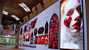 16K空間映像コンテンツ「Museum of Red」