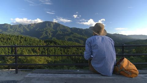 「中部ネイチャーシリーズ 岐阜・恵那山ふるさとの山を描く」